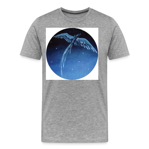 Oiseau Bleu 1 - T-shirt Premium Homme