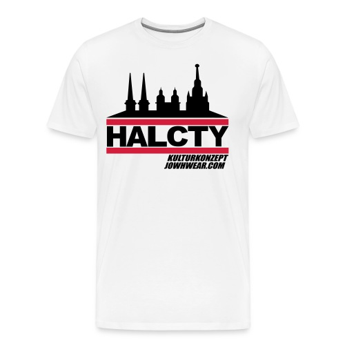 HAL.CTY by JOWHWEAR.COM - Männer Premium T-Shirt