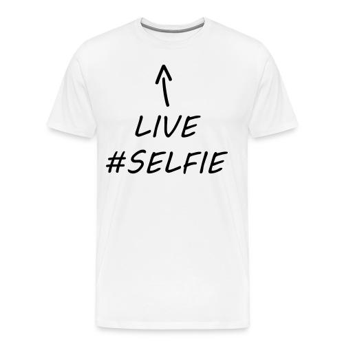 Live - Miesten premium t-paita