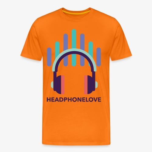 headphonelove - Männer Premium T-Shirt