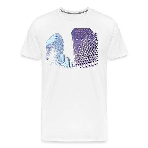 Landscape blu - Men's Premium T-Shirt