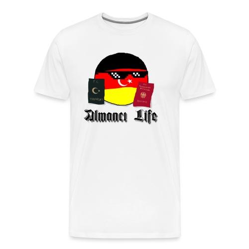 Almanci Life - Männer Premium T-Shirt