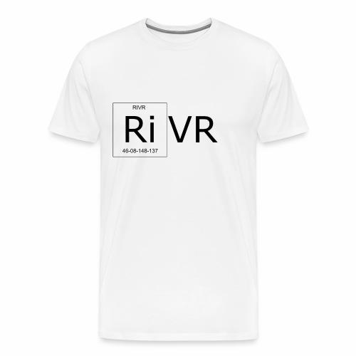 RIVR - Periodic - Premium-T-shirt herr