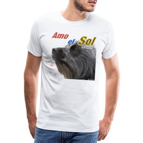 Amo el Sol ft Negrita - Men's Premium T-Shirt
