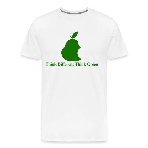 Think different, think green II - T-shirt Premium Homme