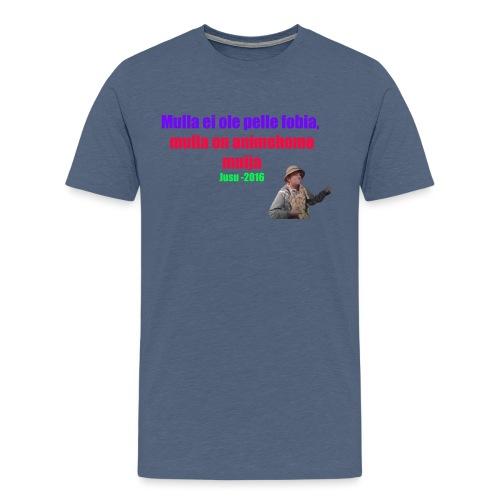 Jusun kuuluisa lausahdus - Miesten premium t-paita