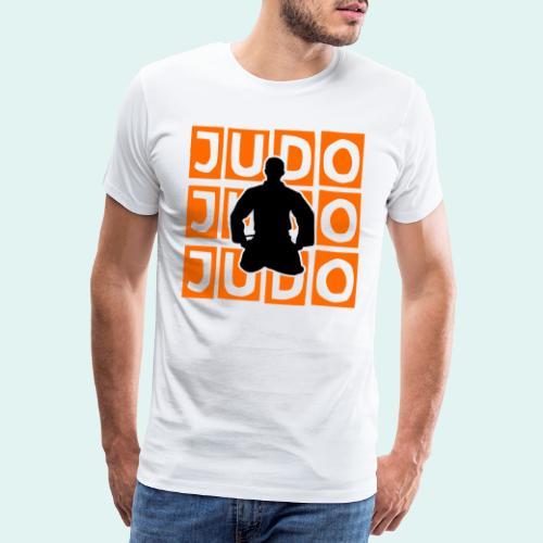 Motiv Judo Orange - Männer Premium T-Shirt