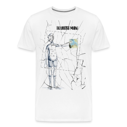 Tourist Man - T-shirt Premium Homme