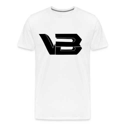 ViiBz Black Logo - Men's Premium T-Shirt
