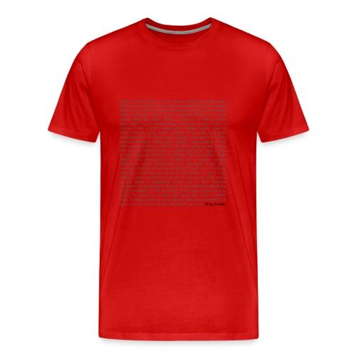 STAY HOME - Männer Premium T-Shirt