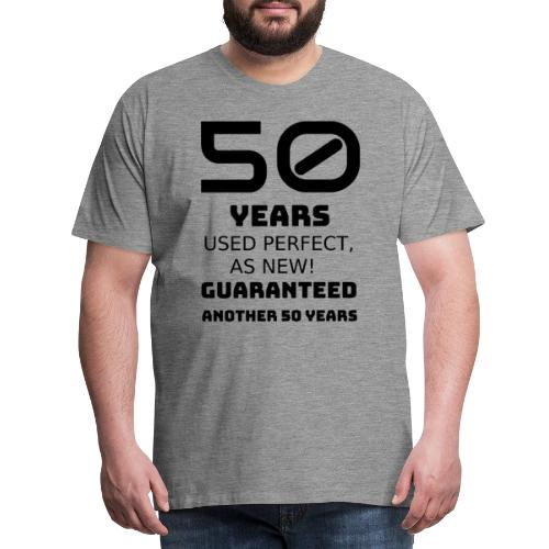 50 years birthday - Maglietta Premium da uomo