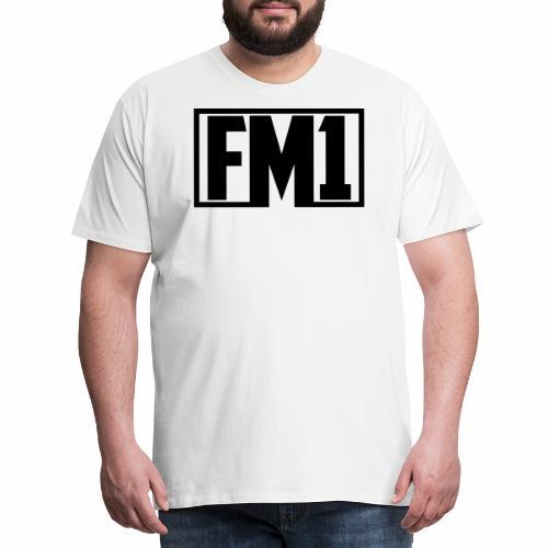 FM1 - Herre premium T-shirt