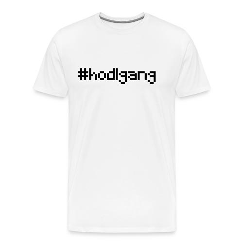 #hodlgang - crypto bitcoin litecoin ethereum shirt - Männer Premium T-Shirt