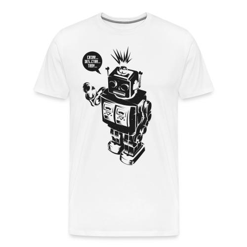 DESTROY ROBOT - Männer Premium T-Shirt