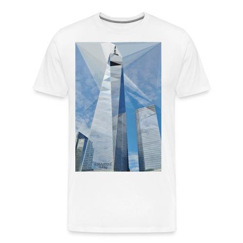 wtc jpg - Männer Premium T-Shirt