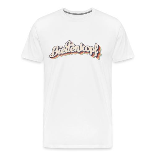 Biedenkopf Retro Grenzgang - Männer Premium T-Shirt