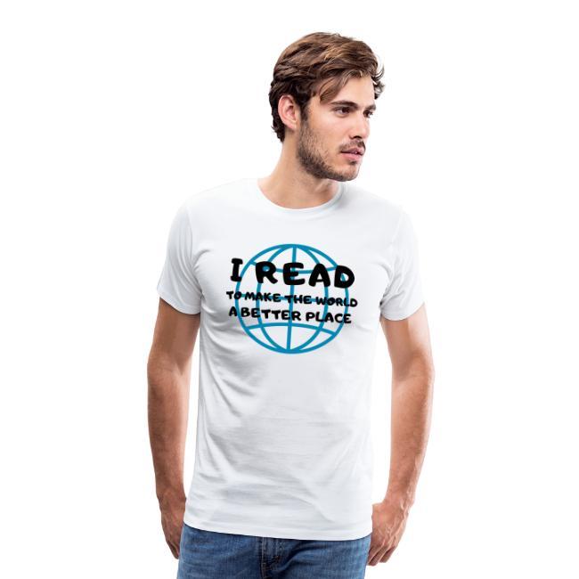 1013 Ich lese um die Welt besser zu machen   Buch