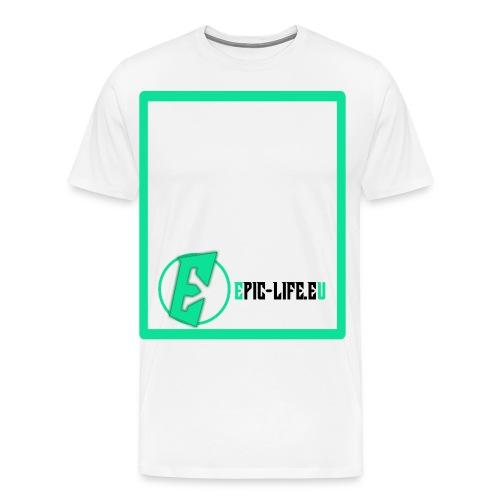 epiclifelogogfpt1zvd0r png - Männer Premium T-Shirt