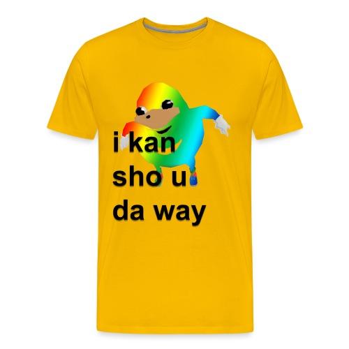uganda - Miesten premium t-paita