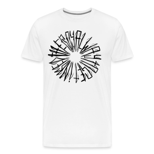 the royal way to get inked - Männer Premium T-Shirt