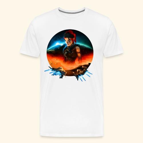 Pirate Galaxy Poster - Männer Premium T-Shirt