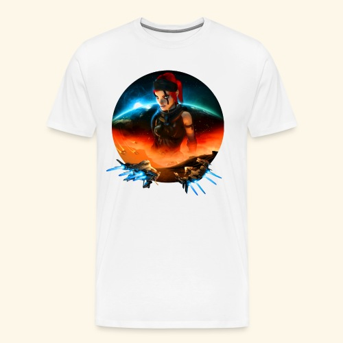 Pirate Galaxy Poster - Men's Premium T-Shirt