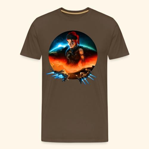Pirate Galaxy Poster - Men's Premium T-Shirt