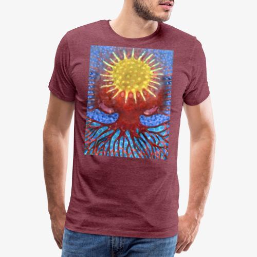Niebiańskie Drzewo - Koszulka męska Premium