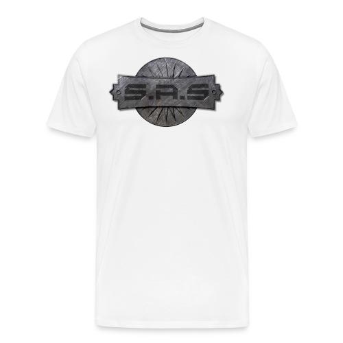 metal background scratches surface 18408 3840x2400 - Mannen Premium T-shirt