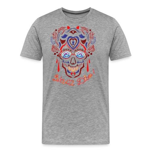 Skull Tattoo Art - Men's Premium T-Shirt