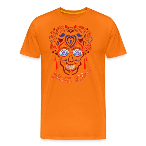 Skull Tattoo Art - Men's Premium T-Shirt