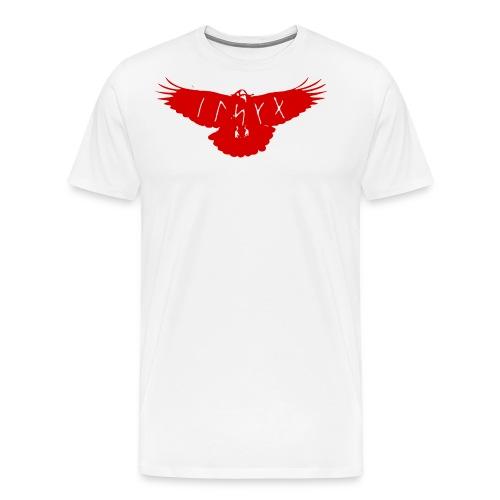 raven elska love - Men's Premium T-Shirt