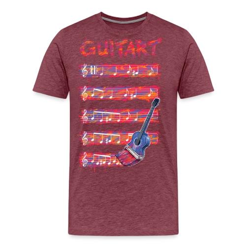 GuitArt - Men's Premium T-Shirt