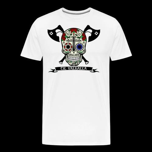 Celtic Calavera - T-shirt Premium Homme