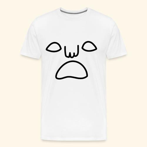noface - Premium-T-shirt herr