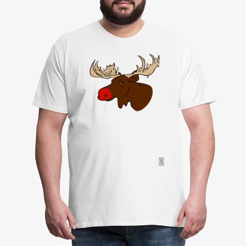 Christmas Moose - Männer Premium T-Shirt