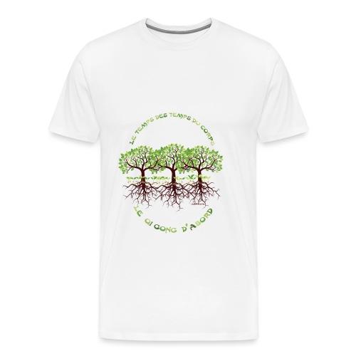 T-shirt les temps du corps, Lembrun 2016/Qi Gong - T-shirt Premium Homme