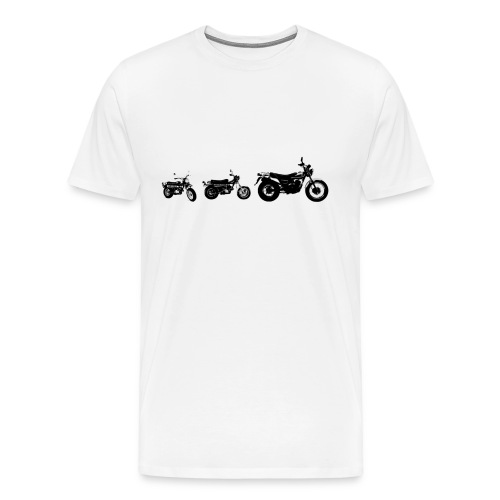 Monkeybike History - Men's Premium T-Shirt