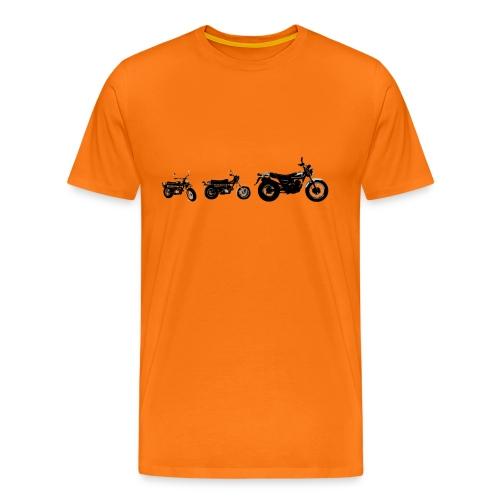 Monkeybike History - Men's Premium T-Shirt