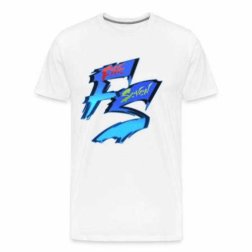 Five seven logo #1 (grand) - T-shirt Premium Homme