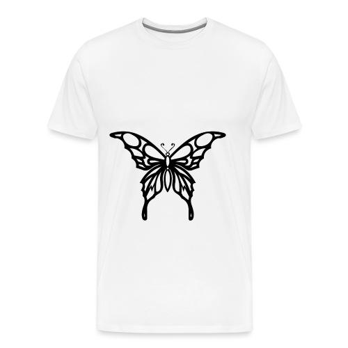 schmatterling png - Männer Premium T-Shirt