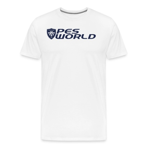 new pes world logo png - Men's Premium T-Shirt