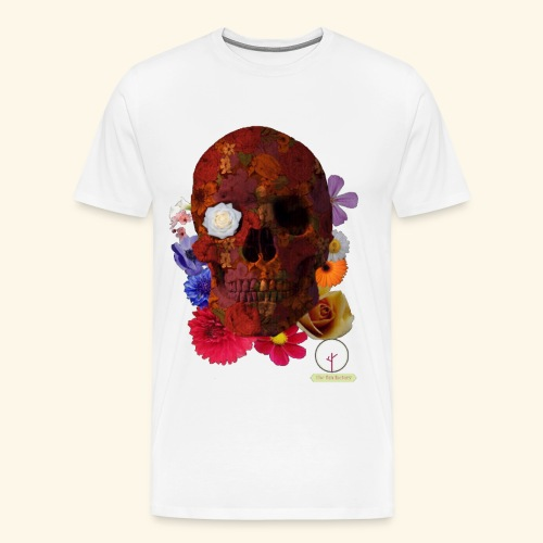 death flowers - T-shirt Premium Homme