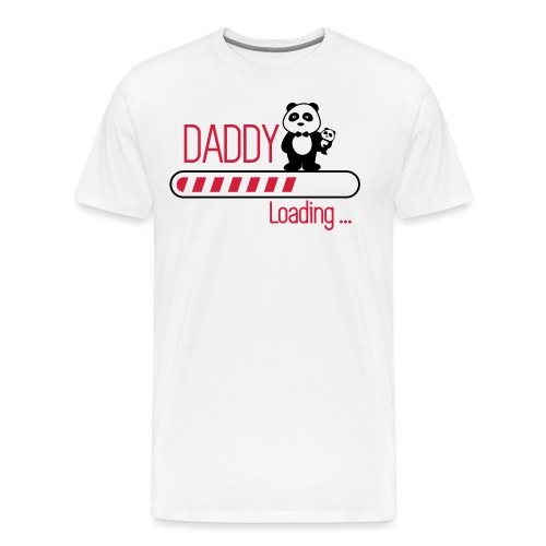 daddy loading - Men's Premium T-Shirt