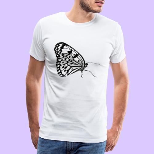 Schmetterling, Schmetterlinge, Insekt, Natur - Männer Premium T-Shirt