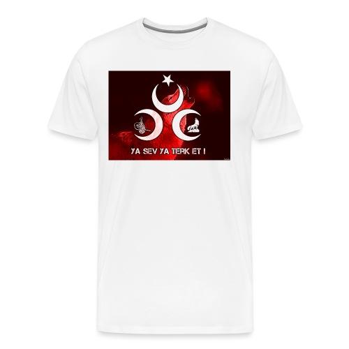 ya sev ya terk et - Männer Premium T-Shirt