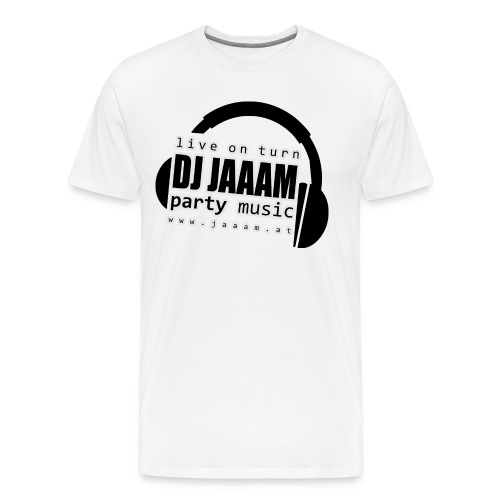 logo dj jaaam partymusic pos obj - Männer Premium T-Shirt
