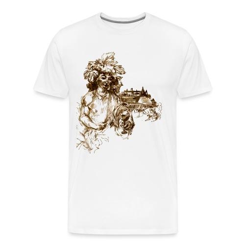 Bacchus 010 - Männer Premium T-Shirt