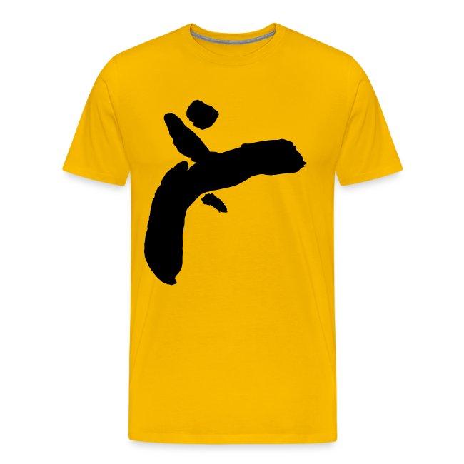 Martial Arts Kick - Slhouette Minimal Wushu Kungfu