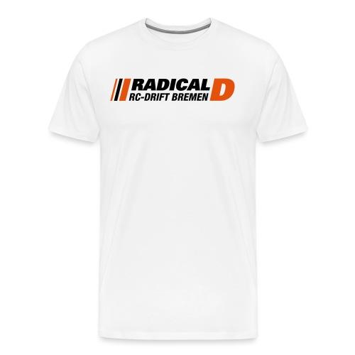 Radical-D 2 light Background - Männer Premium T-Shirt